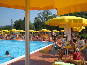 Greve in Chianti, Tuscany, Italy swimming pool